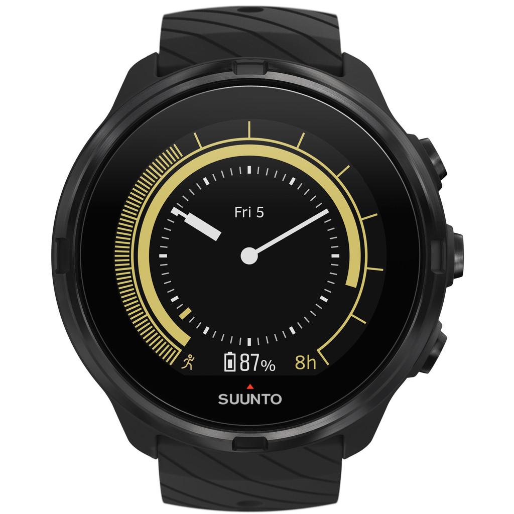 Suunto 9 GPS Multisport HR All Black Watch Horloges