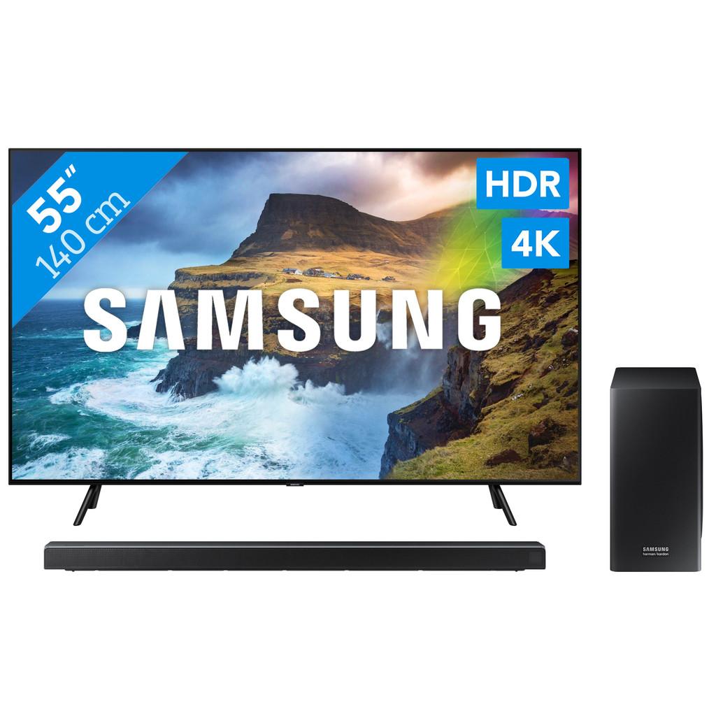 Samsung QE55Q70R - QLED + Soundbar