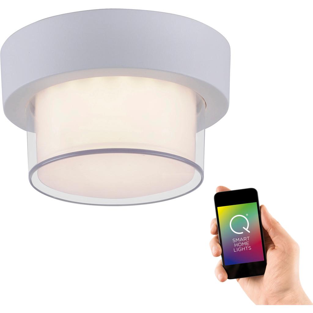 Paul Neuhaus Q® LED-plafondlamp voor buiten Q®-Erik LED vast ingebouwd 11 W RGBW