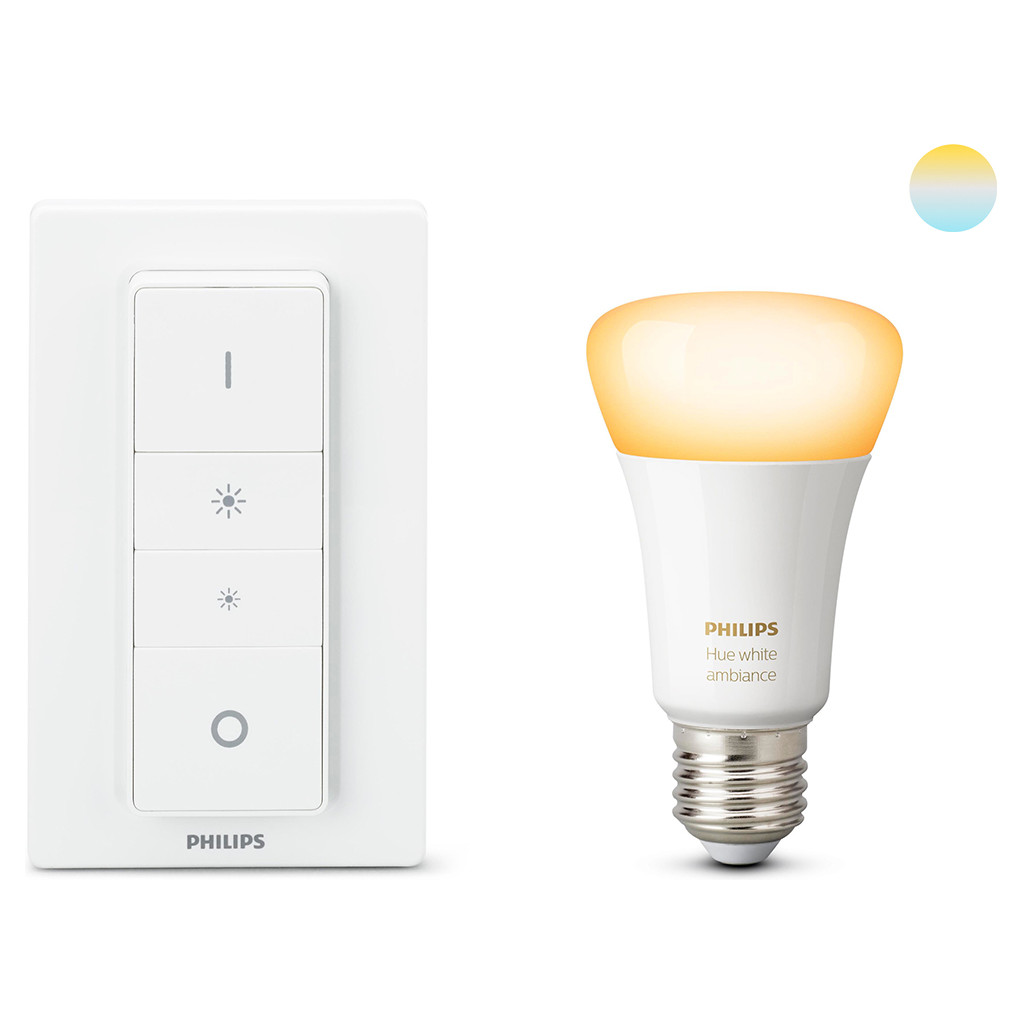Philips Hue White Ambiance E27 Wireless Dimming kit