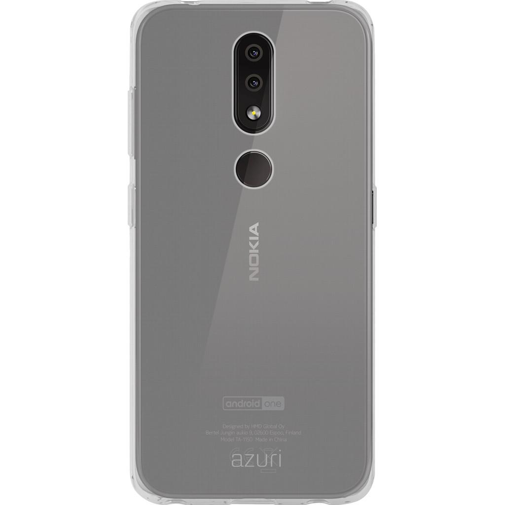 Azuri TPU Nokia 4.2 Back Cover Transparant