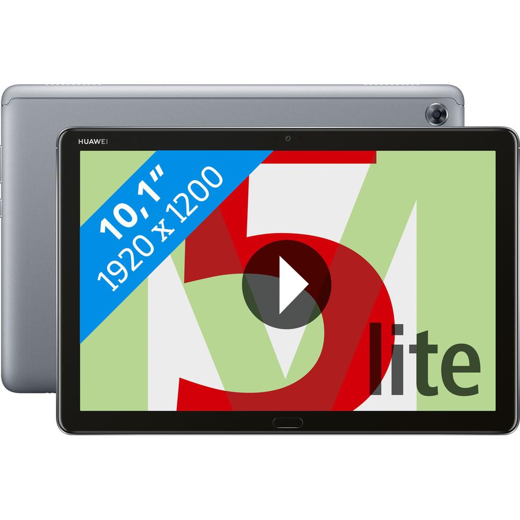 Tweedekans Huawei MediaPad M5 Lite 10.1 64 GB Wifi Grijs