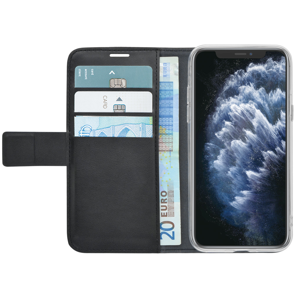 Azuri Wallet Apple iPhone 11 Pro Max Book Case Zwart
