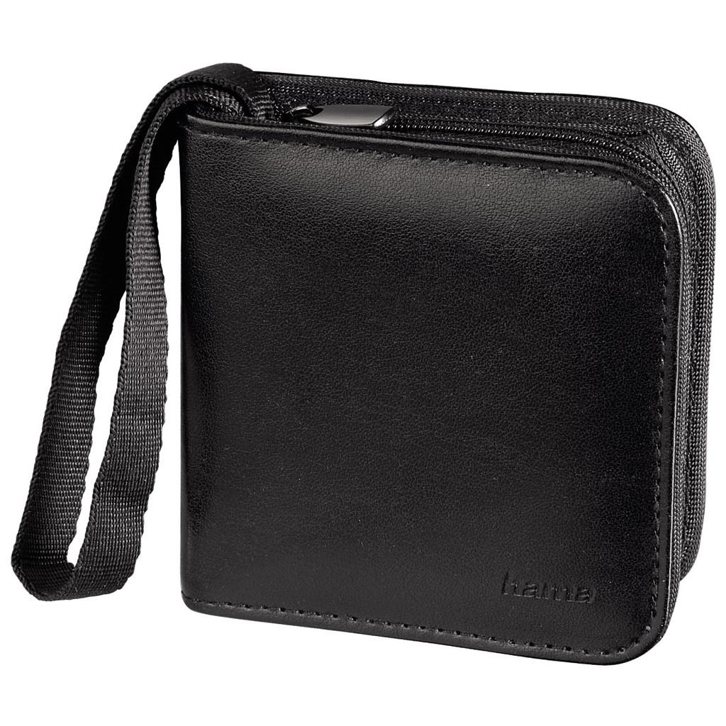 Hama Memory Wallet 12x SD Zwart in Stuifakker