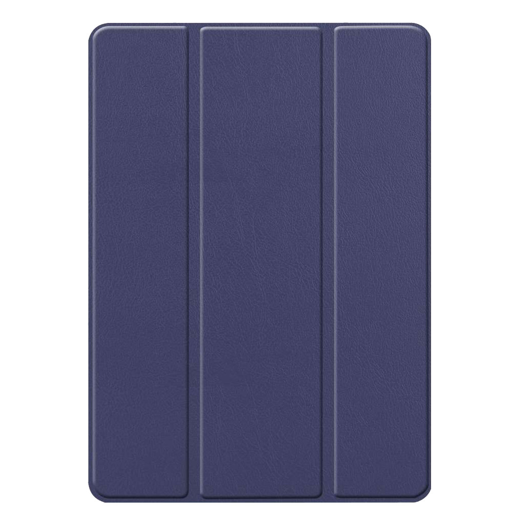 Just in Case Smart Tri-Fold Apple iPad (2019) Book Case met Pencil Houder Blauw kopen