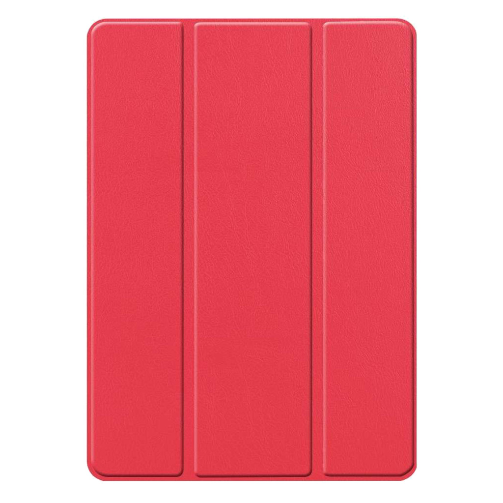 Just in Case Smart Tri-Fold Apple iPad (2019) Book Case met Pencil Houder Rood kopen