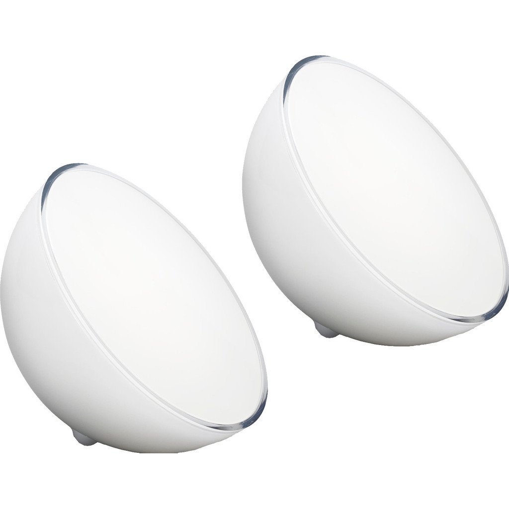Philips Hue Go White Colour Bluetooth Duo Pack