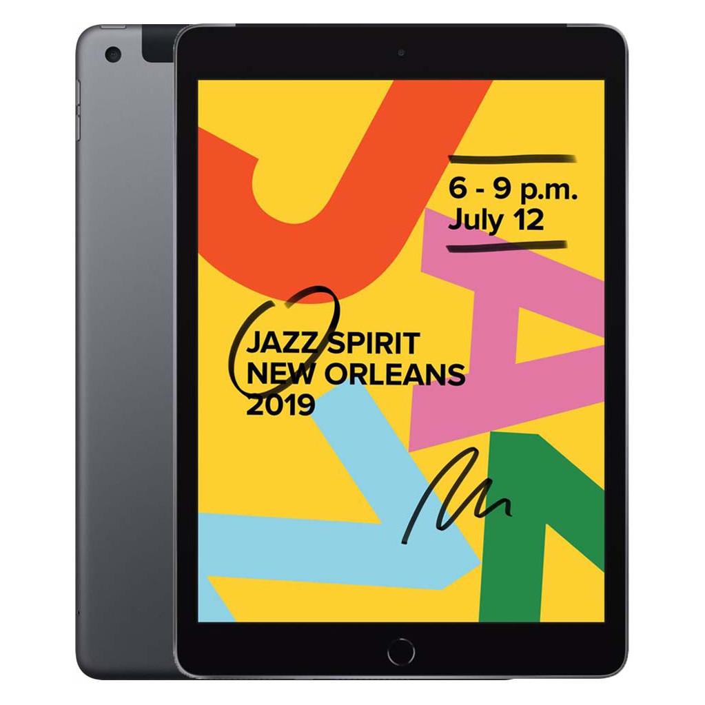 Apple iPad (2019) 128GB Wifi + 4G Space Gray