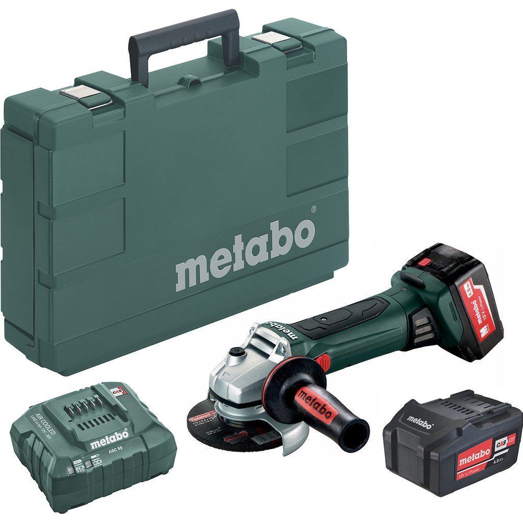 Metabo W 18 LTX 125 Quick (2x4,0Ah)
