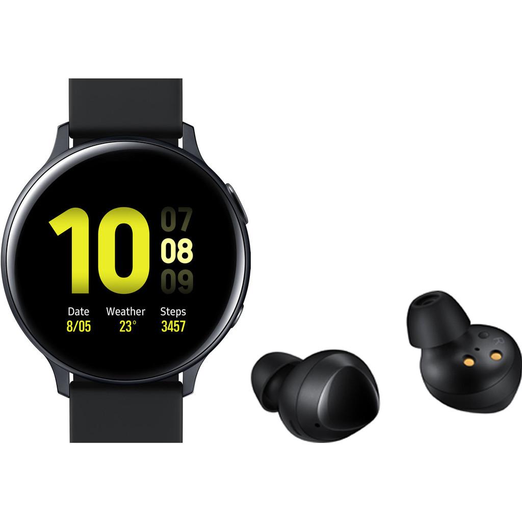 Samsung Galaxy Watch Active2 Zwart 44 mm Samsung Galaxy Buds Zwart