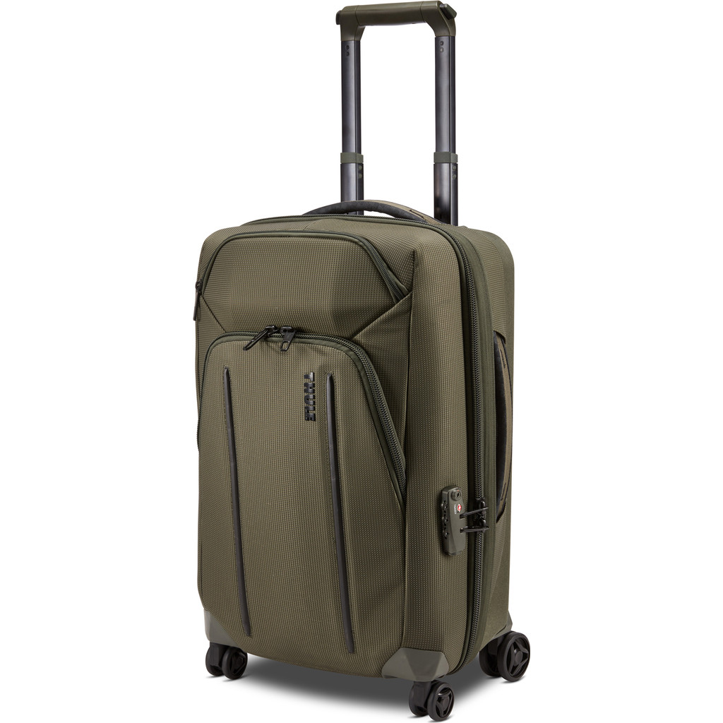 Thule Crossover 2 Carry-on Expandable Spinner 55cm Forest Night