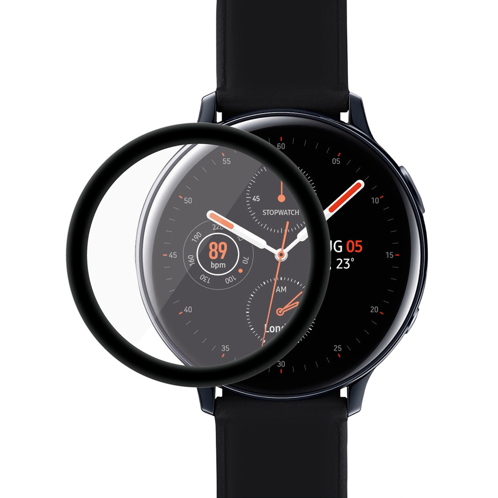 PanzerGlass Samsung Galaxy Watch Active2 40mm Screenprotector Glas Zwart