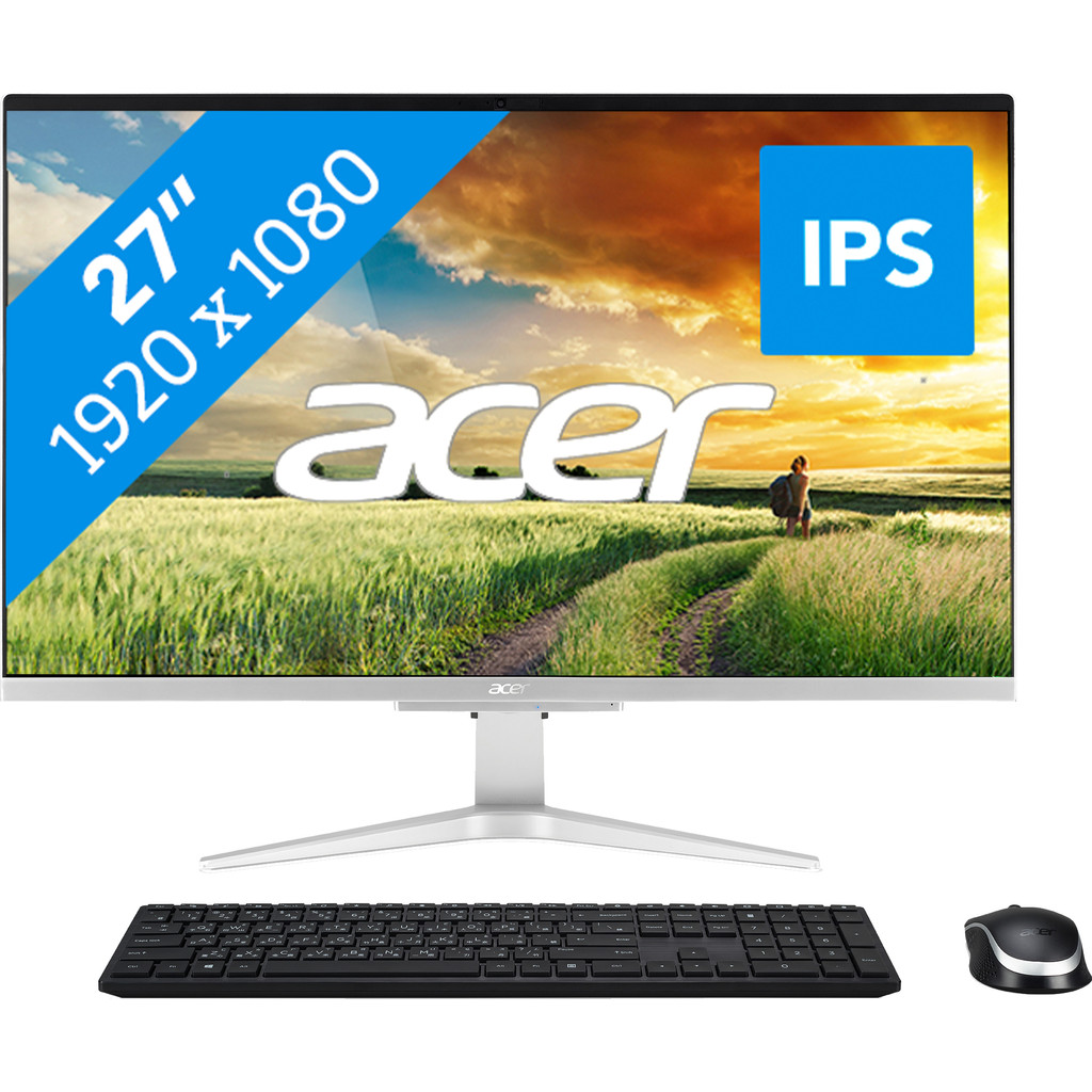 Tweedekans Acer Aspire C27-962 I3530 NL All-in-One