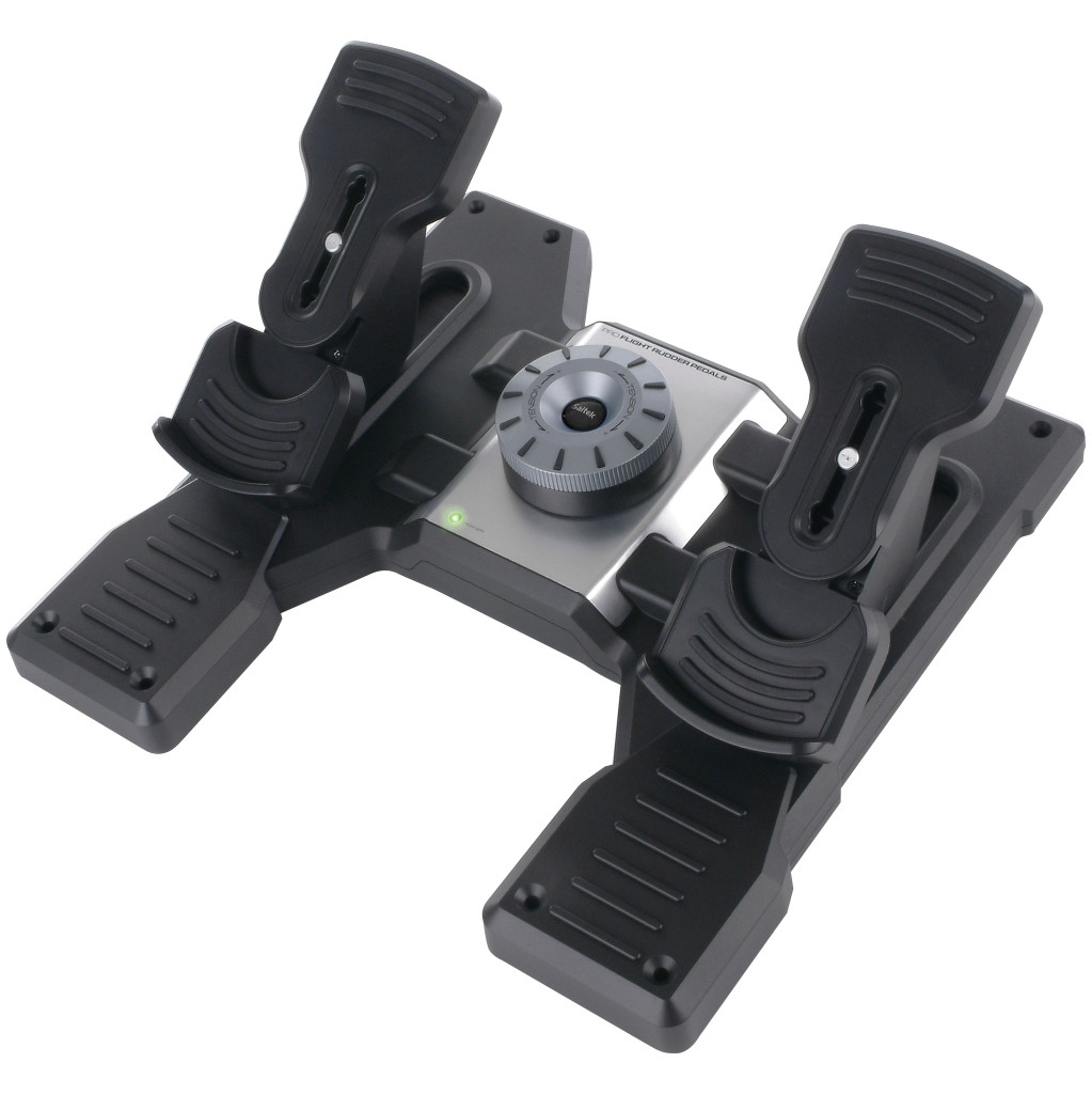 Saitek Pro Flight Rudder Pedals PC in Nijkerk