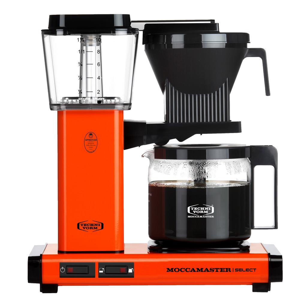 Technivorm Moccamaster KBG Select Oranje