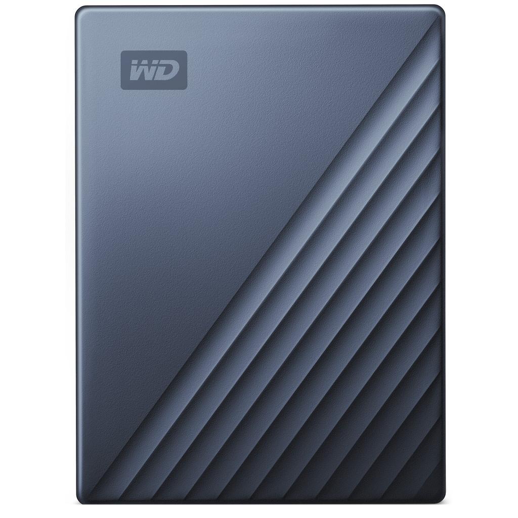 WD My Passport for Mac 5TB Type C Blauw kopen