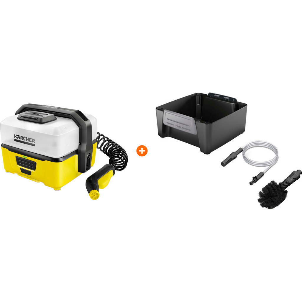 Karcher OC 3 Mobile Cleaner Adventure box