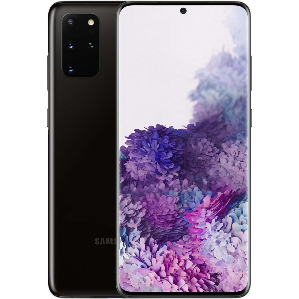 Samsung Galaxy S20 Plus 128GB Zwart 5G-128 GB opslagcapaciteit  6,7 inch quad hd scherm  Android 10.0