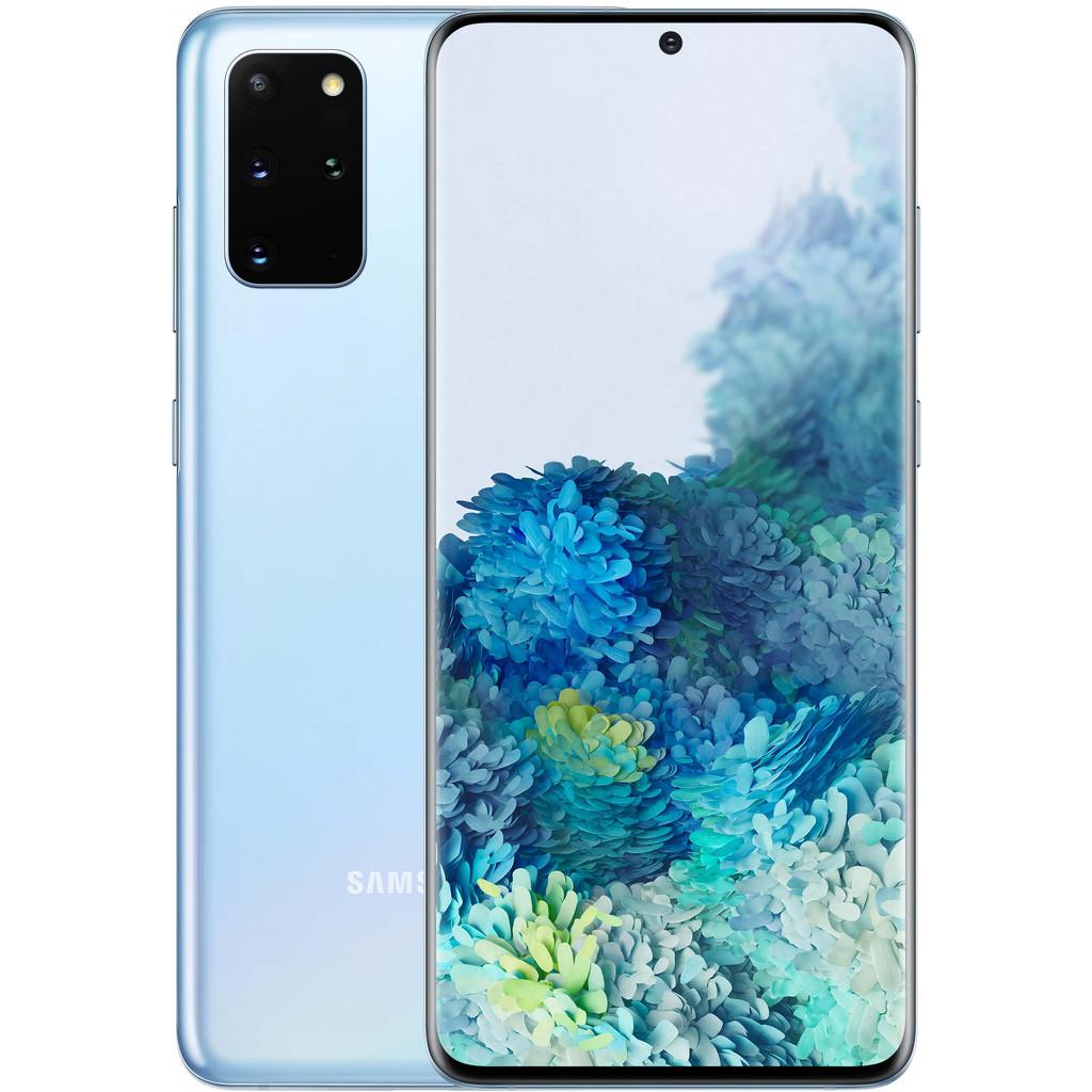 Samsung Galaxy S20 Plus 128GB Blauw 5G-128 GB opslagcapaciteit  6,7 inch quad hd scherm  Android 10.0