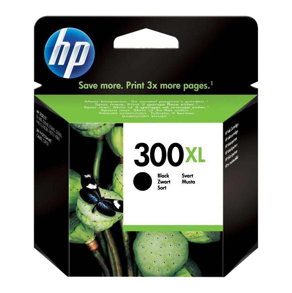 HP 300XL Cartridge Zwart (HPCC641E)