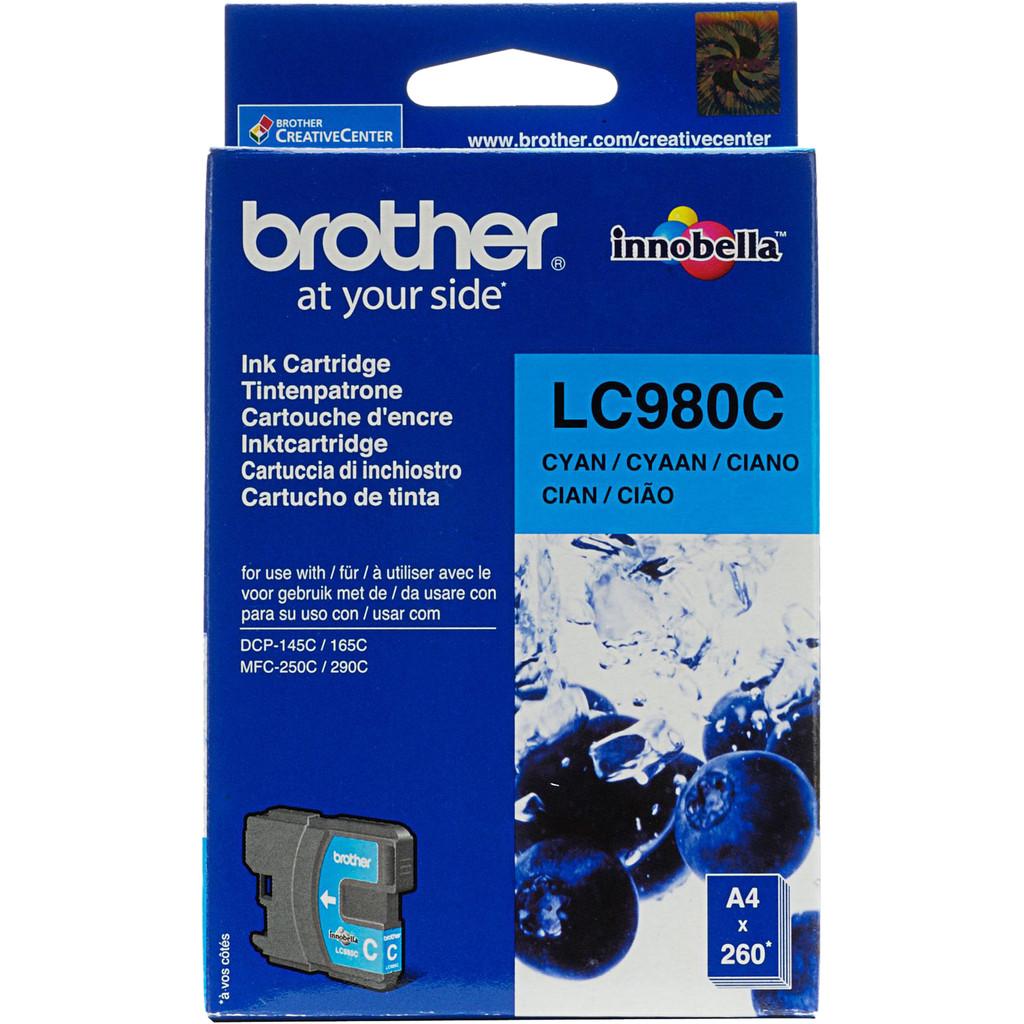 Brother LC-980 Cartridge Cyaan