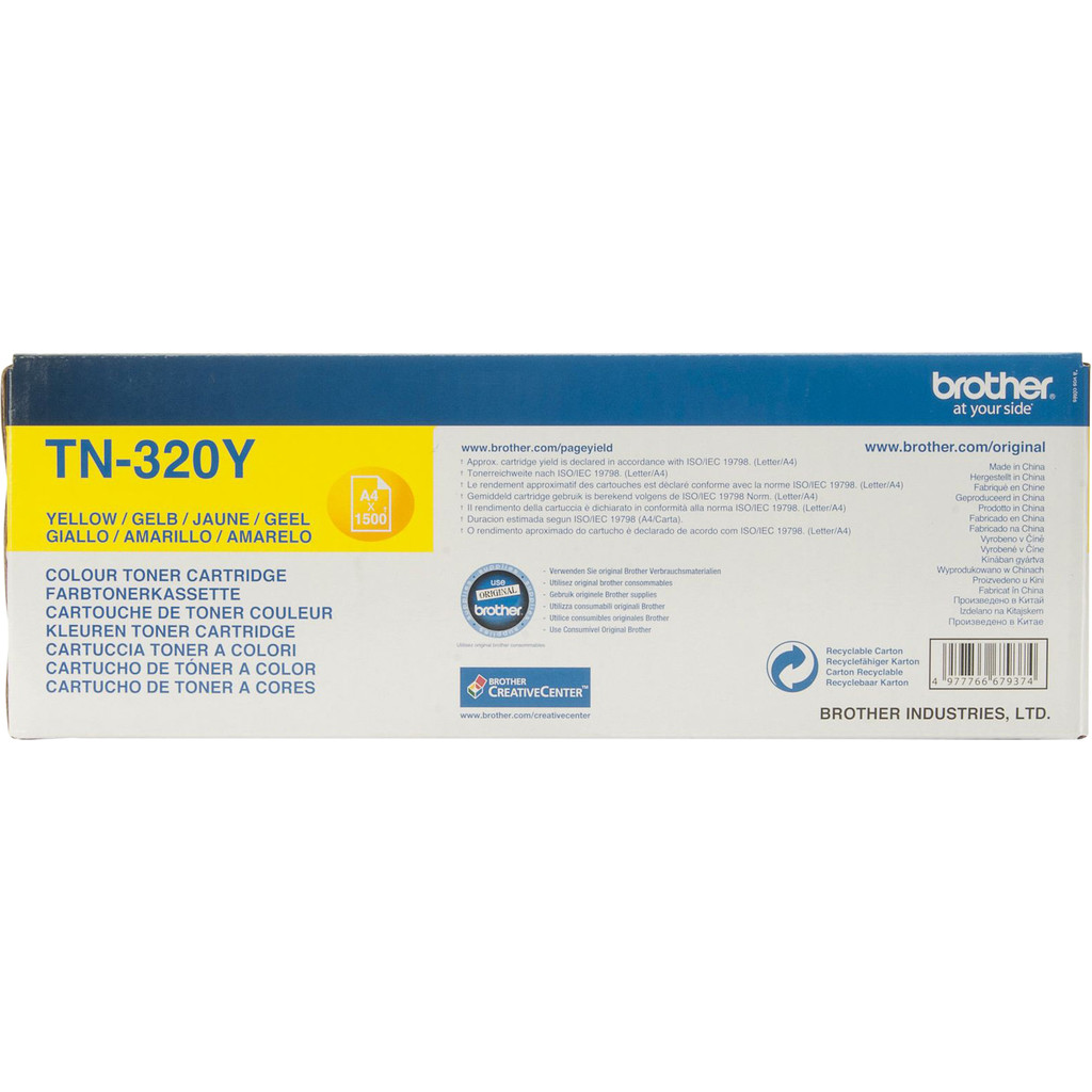 TN-320 Yellow Toner