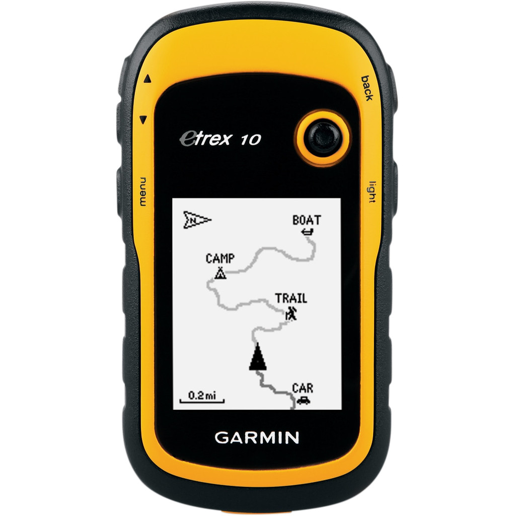 Garmin eTrex 10 GPS 128x160, USB, Geel (010-00970-00)