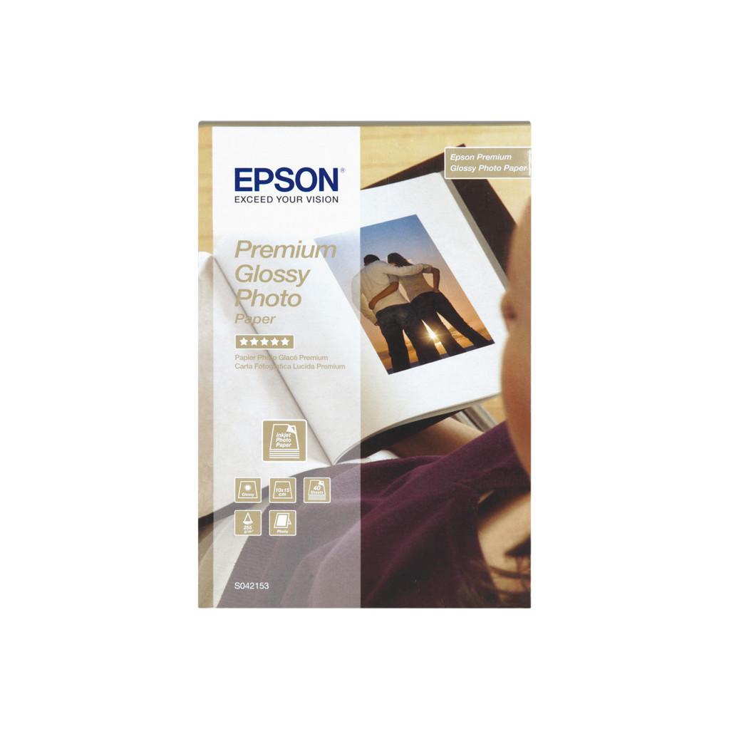 Epson Premium Glossy Fotopapier 10 x 15 (40 Vellen)