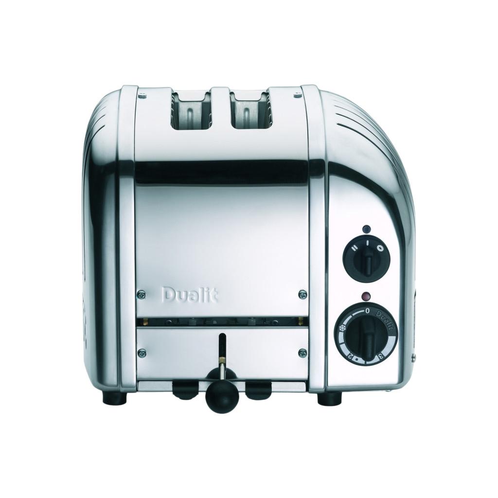 Dualit 2 Slot NewGen toaster 26 x 21 x 22 zilver