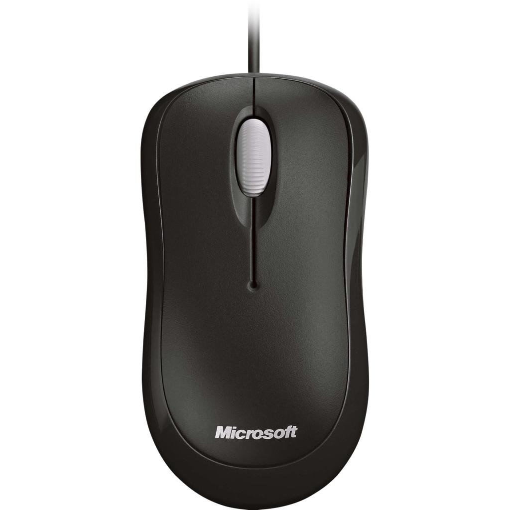 Microsoft Basic Optical Mouse Zwart