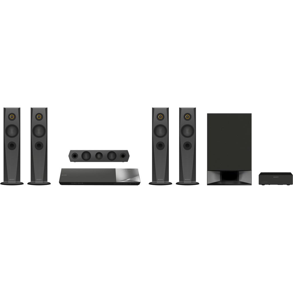 Sony BDV-N7200W-5.1 kanaals (surround)  Totaal vermogen 1200 watt  Streamt via wifi, Bluetooth