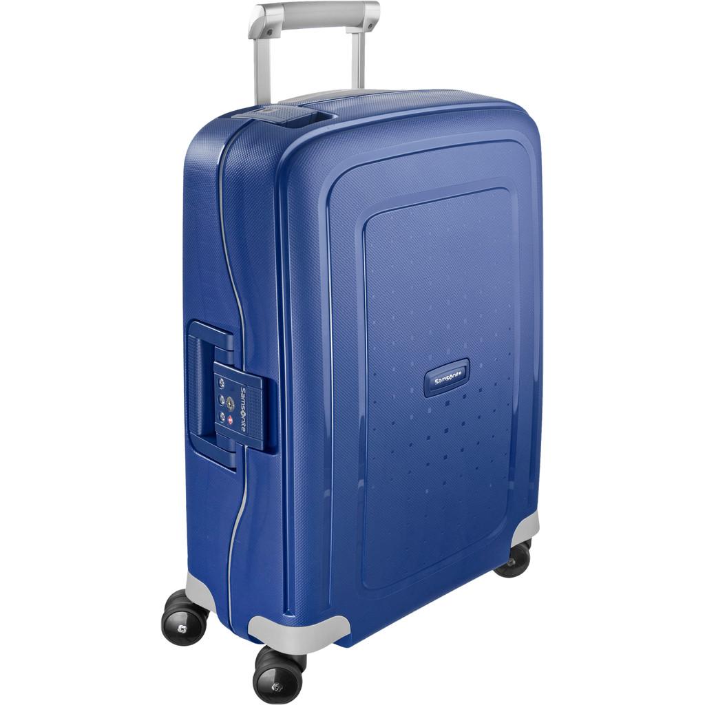 Samsonite S'Cure Spinner 55cm Dark Blue