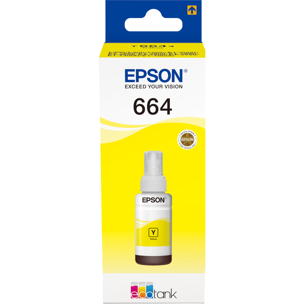 Epson T6644 Inktflesje Geel