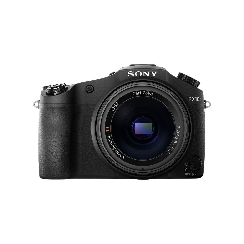 Sony Cybershot DSC-RX10 II-20,2 megapixel Exmor RB BSI CMOS sensor  8,3x optische zoom  Wifi en NFC  4K Ultra HD 2160p  813 gram