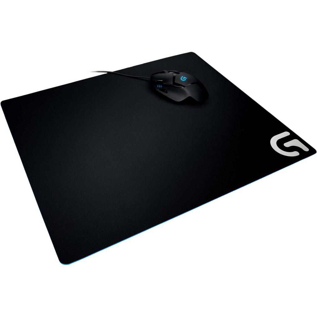 Logitech G640 Gaming muismat Zwart