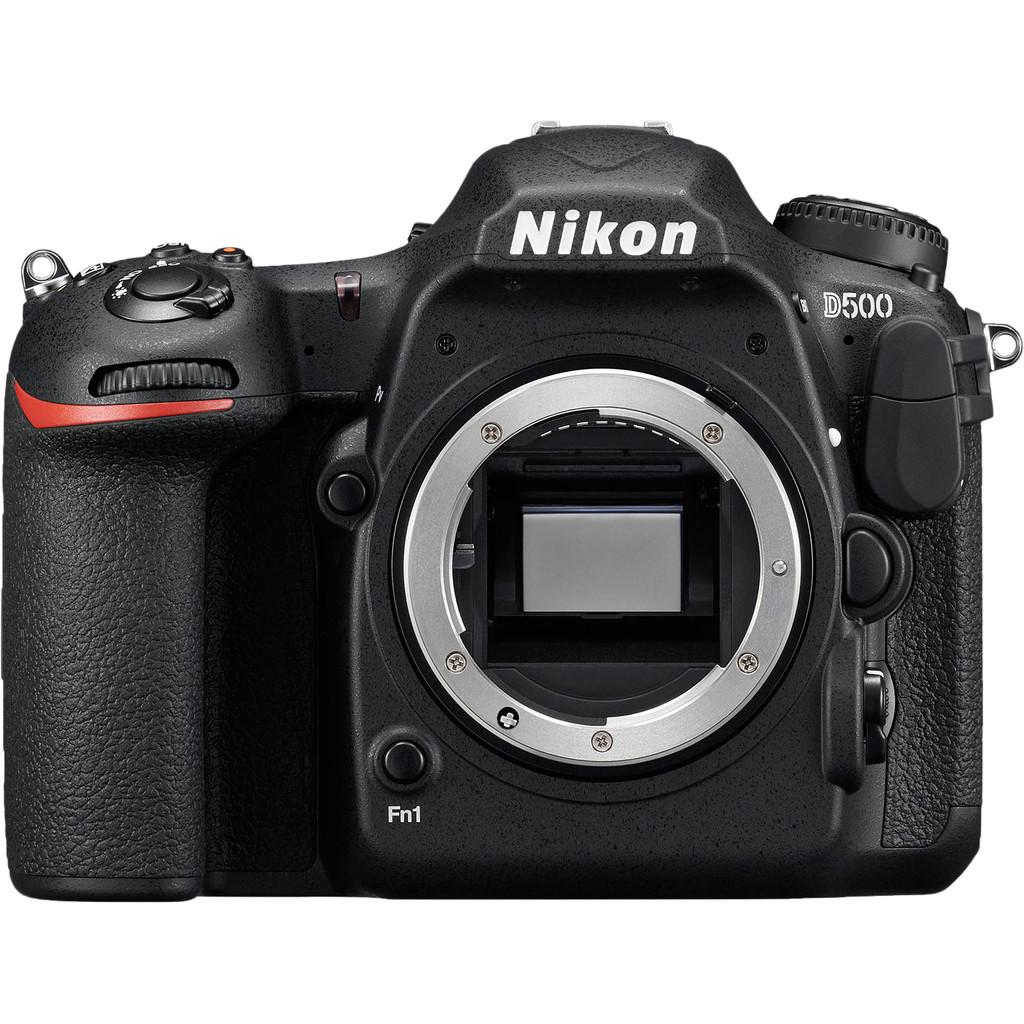 Nikon D500 Body-20,9 megapixels, CMOS sensor  4K Ultra HD, 10 fps, wifi  Camerabody zonder lens