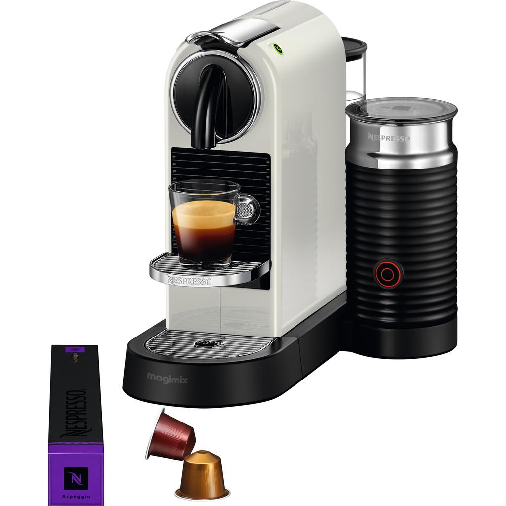Magimix Nespresso CitiZ & Milk M196 Wit