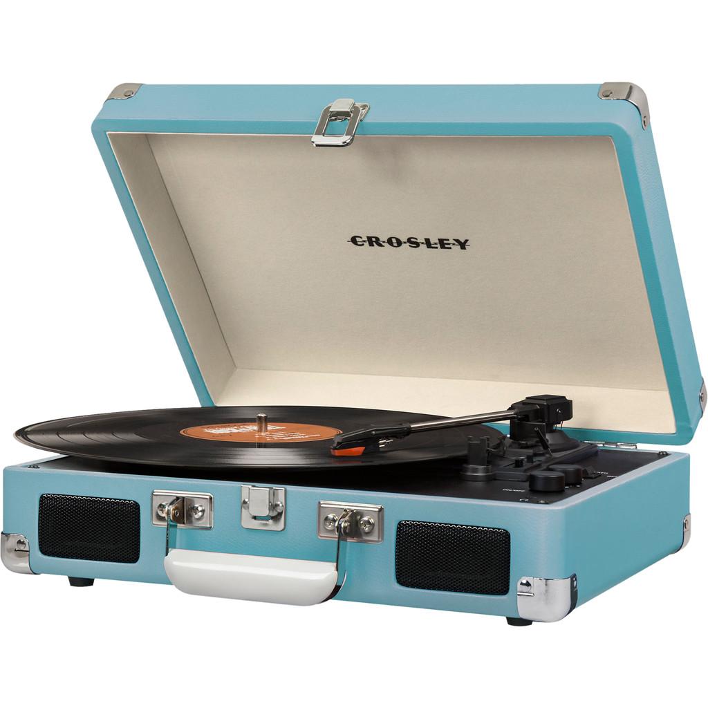 Crosley Cruiser Deluxe platenspeler turquoise