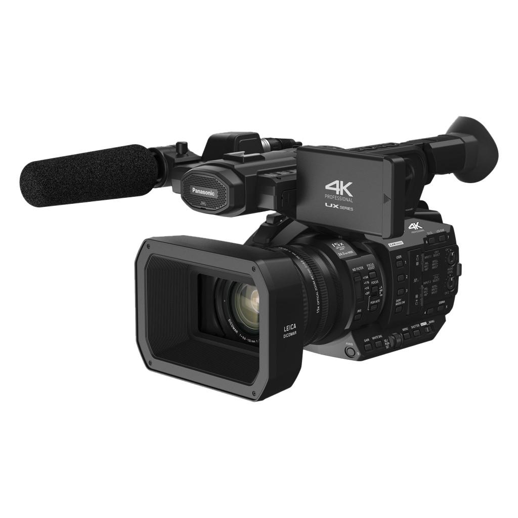 Panasonic AG-UX90-4K kwaliteit  17,78 megapixel MOS sensor  15x optische zoom  Optische beeldstabilisatie  Geen wifi
