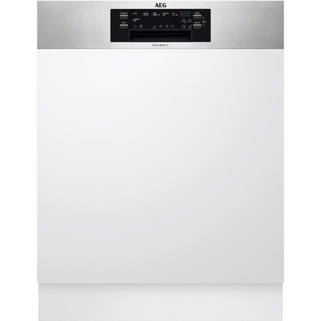 Tweedekans AEG FEE63600PM / Inbouw / Half geïntegreerd / Nishoogte 82 - 90 cm