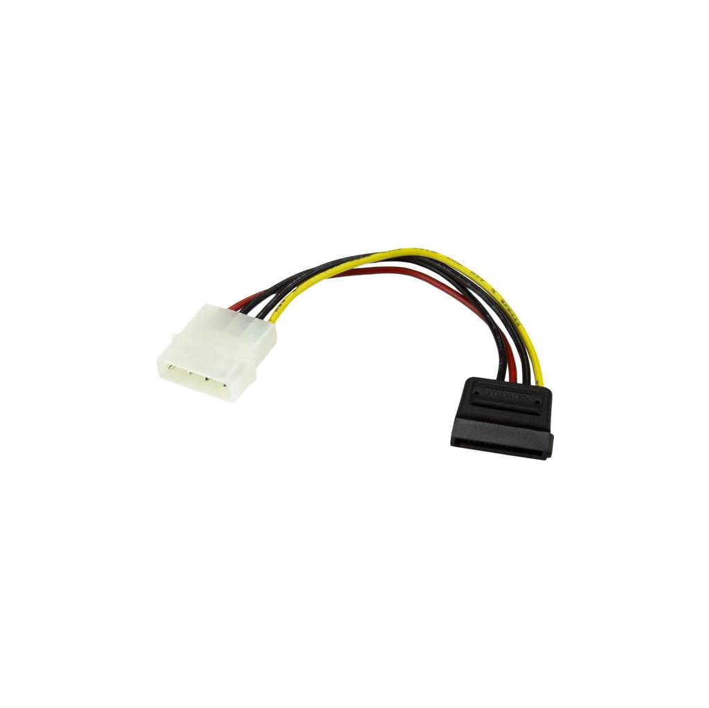 StarTech.com 15 cm 4-pins Molex naar SATA Voedingskabel Adapter (SATAPOWADAP)