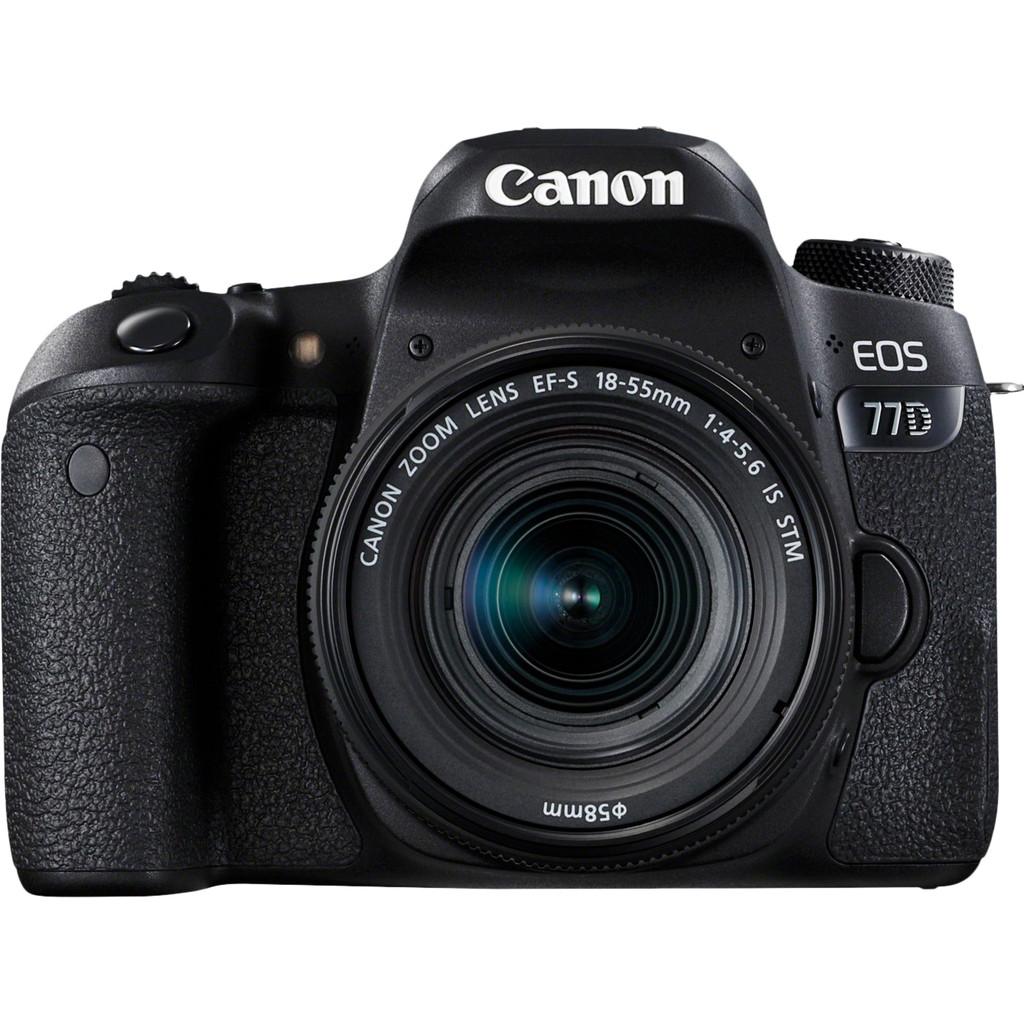 Canon EOS 77D DSLR + 18-55mm f-4.0-5.6 IS STM