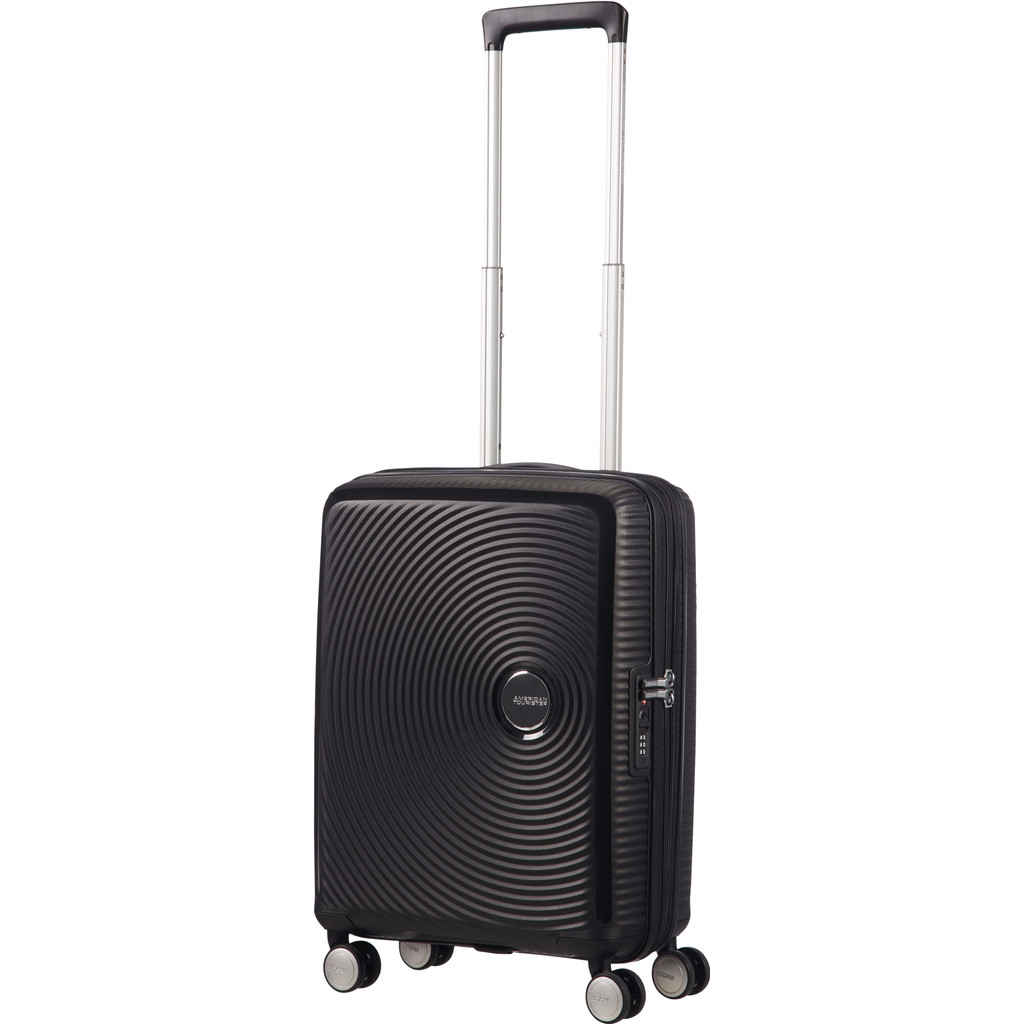 American Tourister Soundbox Spinner 55 Exp. Bass Black