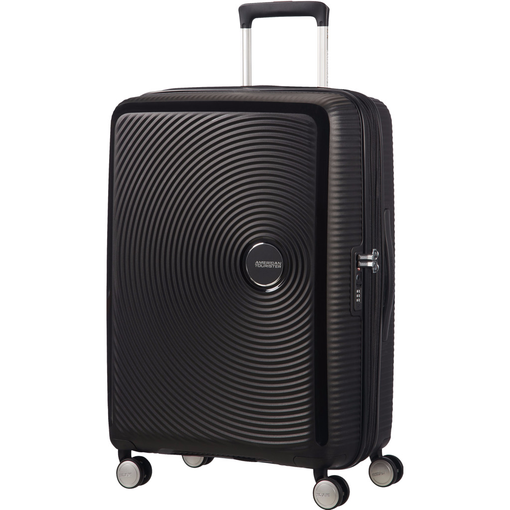 American Tourister Soundbox Expandable Spinner 67cm TSA Bass Black