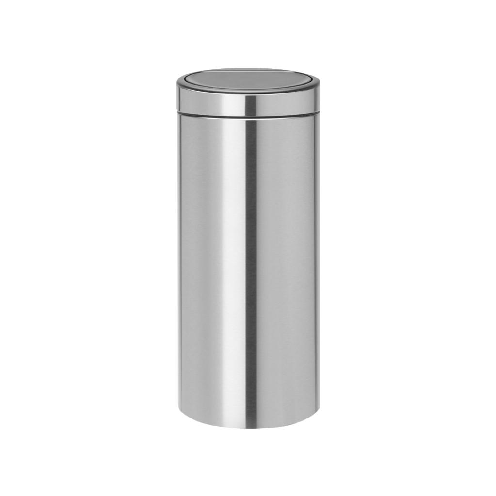 Brabantia Touch Bin Afvalverzamelaar 30 liter Matt Steel Fingerprint proof