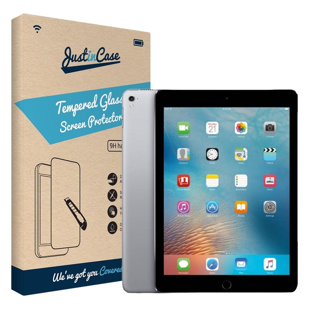 Just in Case Tempered Glass Apple iPad 9.7 (2017) Arc Edge voor iPad 9.7 (2017)