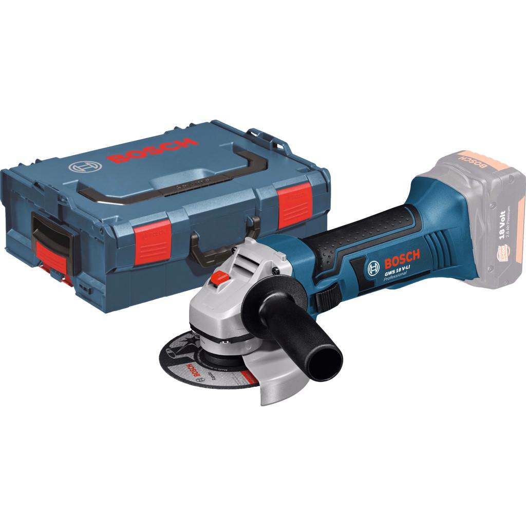 Accu-haakse slijpmachine GWS 18-125 V Li