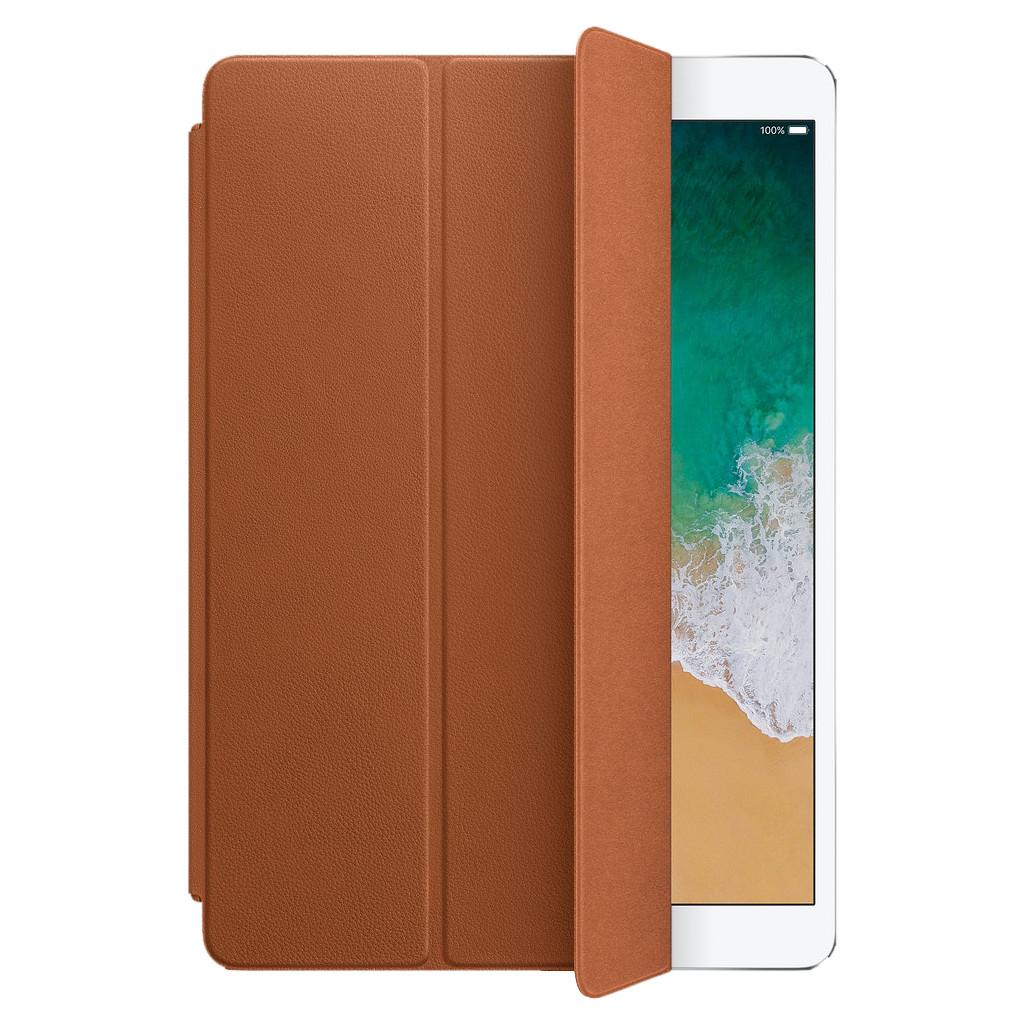 Tweedekans Apple Leren Smart Cover iPad (2020)/(2019), iPad Air (2019) en Pro 10.5 inch Zadelbruin