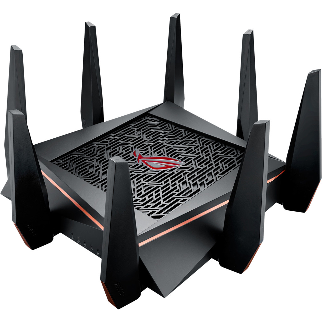 ASUS ROG Rapture GT-AC5300 Dual-band (2.4 GHz-5 GHz) Gigabit Ethernet Zwart draadloze router