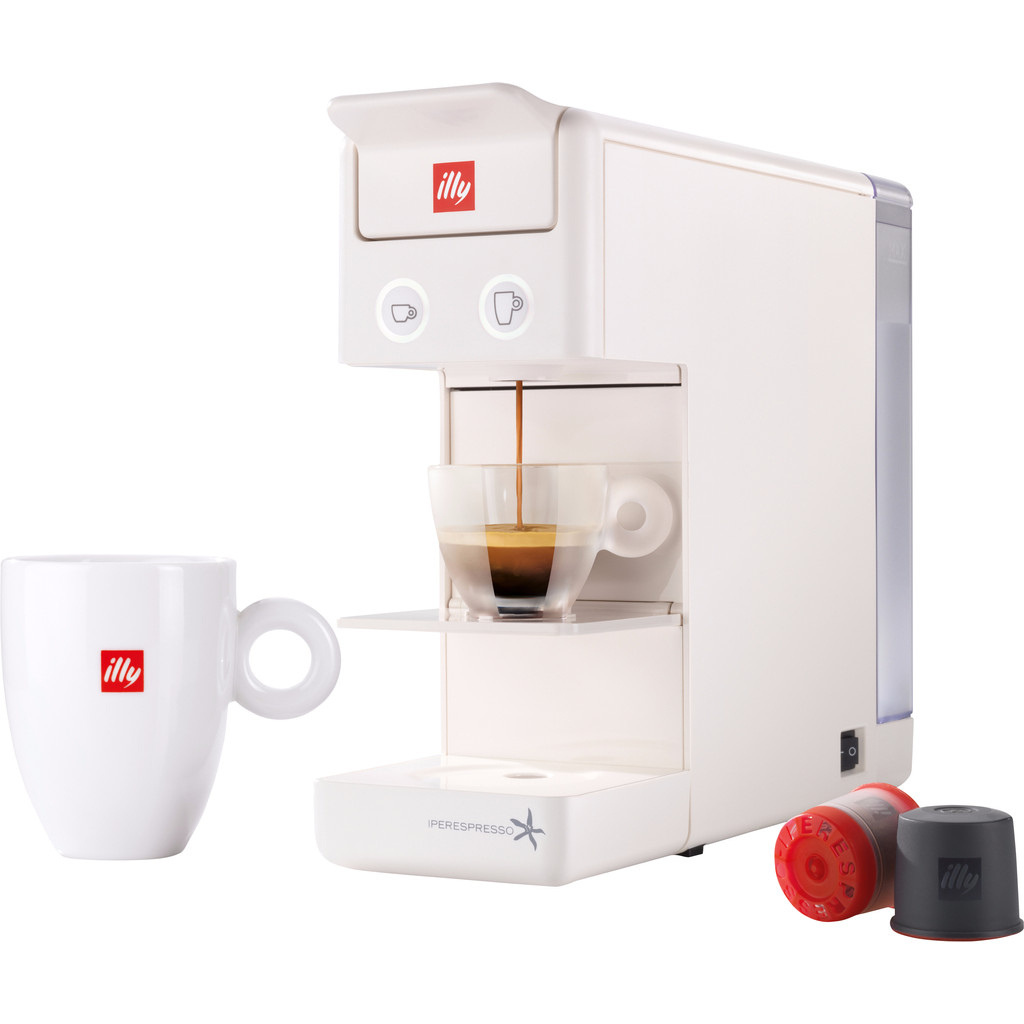 Illy Y3 Espresso & Coffee Wit